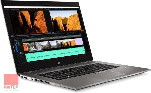لپ تاپ 15 اینچی HP مدل ZBook 15 Studio G5 Workstation - i7 رخ چپ