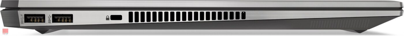 لپ تاپ 15 اینچی HP مدل ZBook 15 Studio G5 Workstation - i7 پورت های چپ