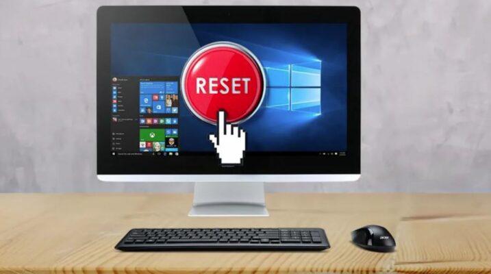 برگرداندن لپ تاپ به تنظیمات کارخانه